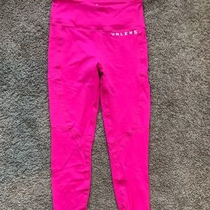 Hot Pink Workout Leggings **BRAND NEW